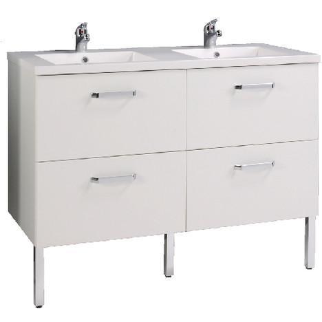 Ensemble sous vasque + double plan vasque Vogue