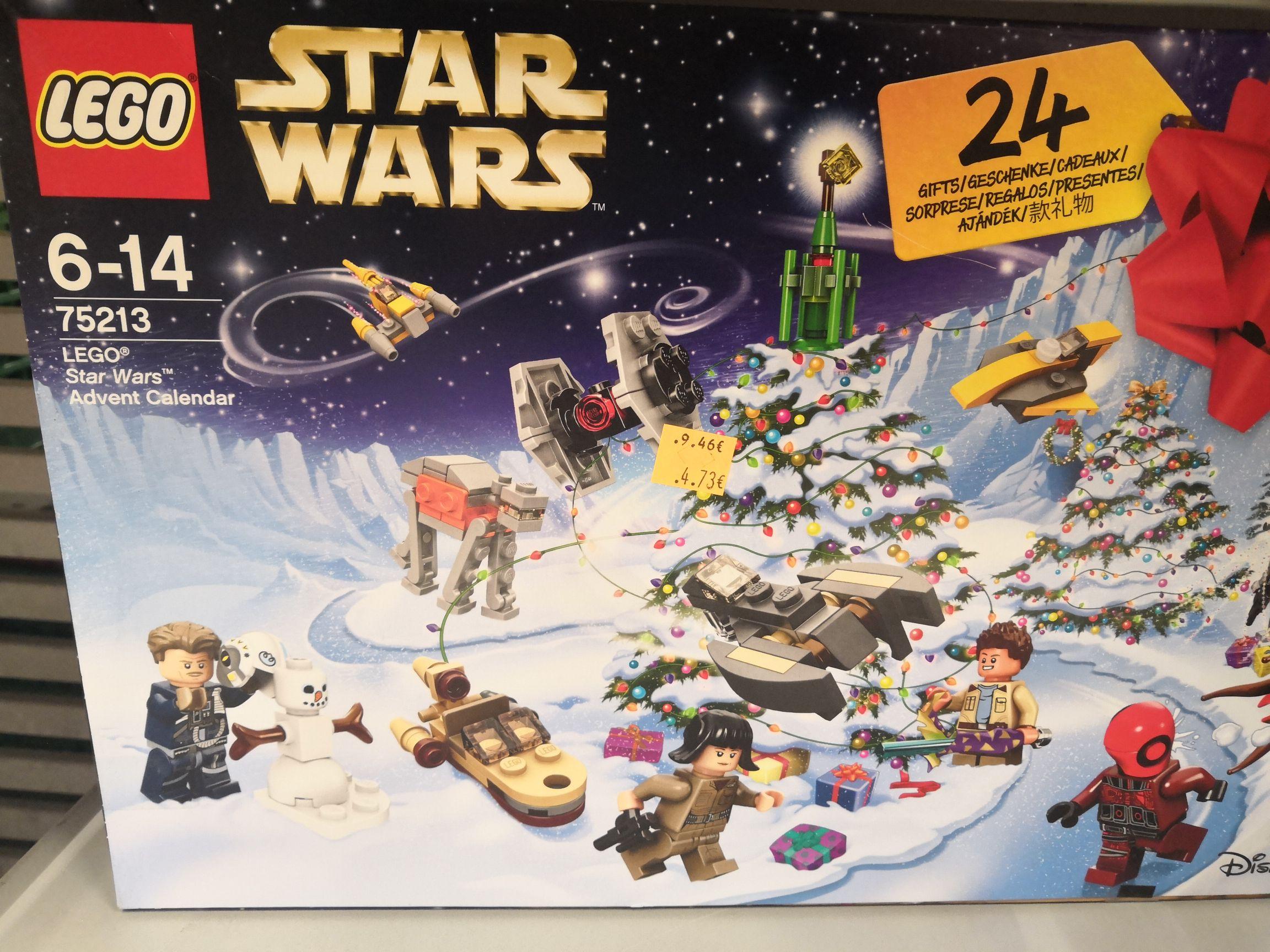 Calendrier De L Avent Lego Star Wars Carrefour.Calendrier De L Avent Lego Star Wars Montesson 78