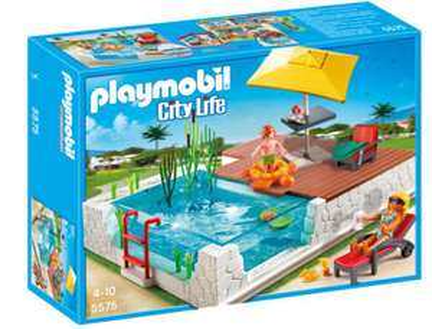 Jouet Playmobil Piscine avec terrasse n°5575