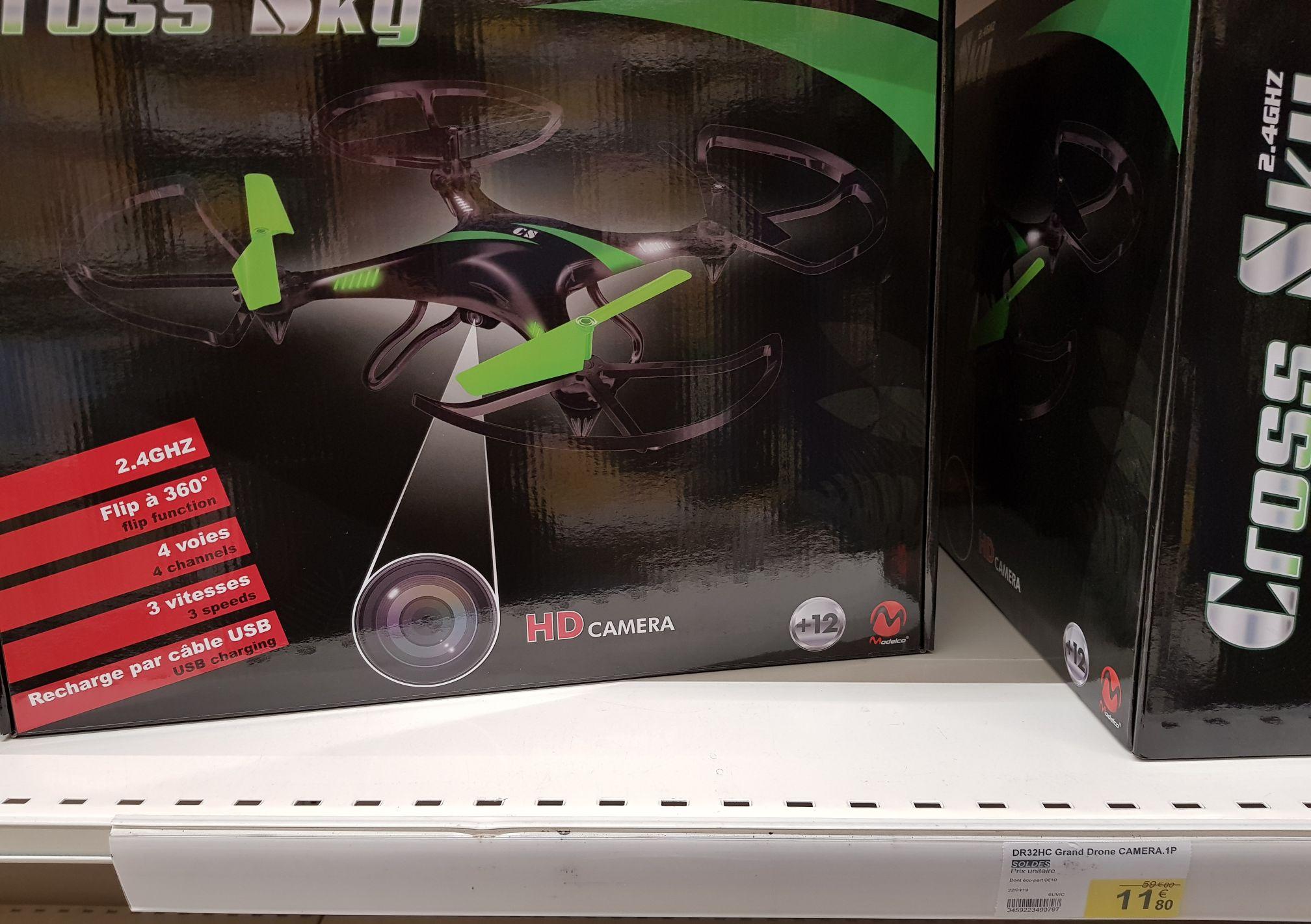 Drone Cross Sky Modelco + télécommande - Jarny (54)