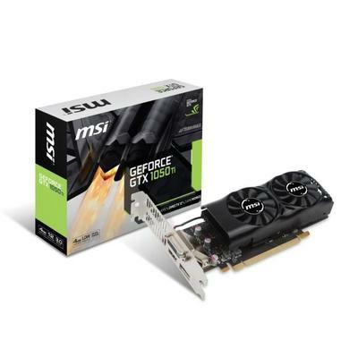 Carte graphique MSI GeForce GTX 1050 TI - 4GB GDDR5