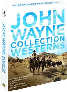 Coffret 5 Blu-ray John Wayne - Collection Westerns