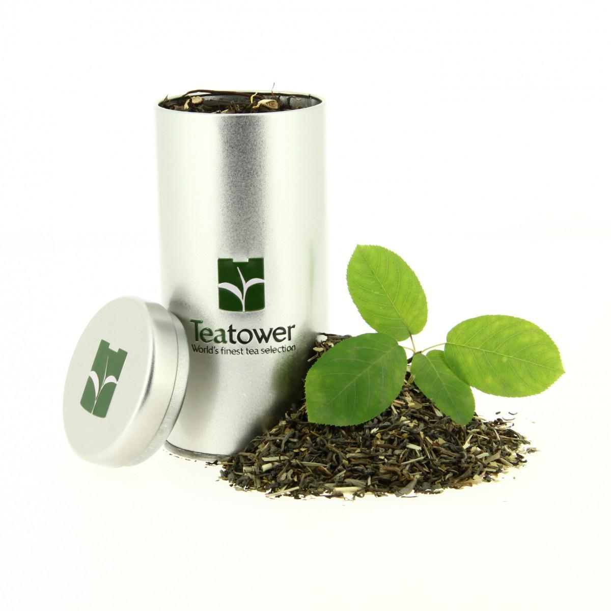 Boite à thé Tea Tower + 20 infusettes offertes pour toute commande