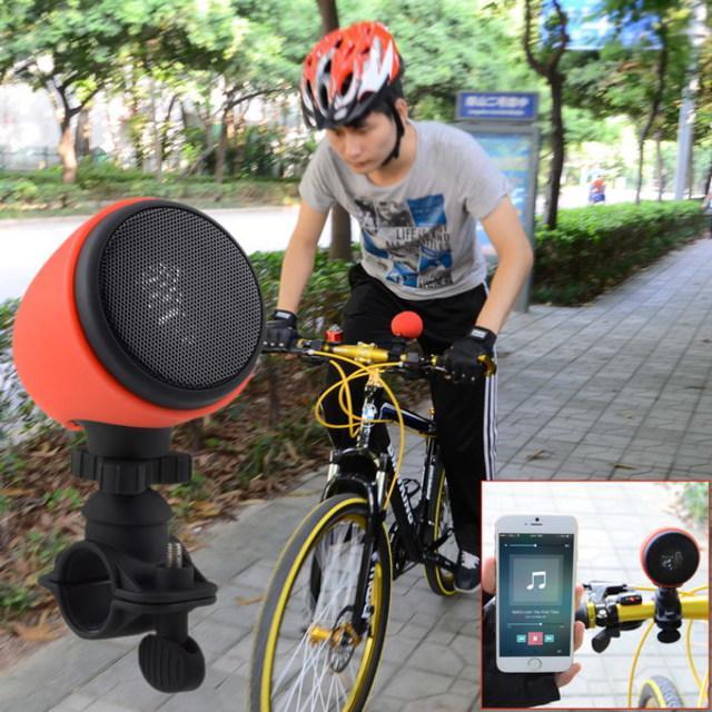 Enceinte Blutooth Multifonction avec fixation pour vélo MA-861