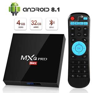 Box Android MXQ Pro Max S - Android 8.1, Smart TV (Vendeur tiers)