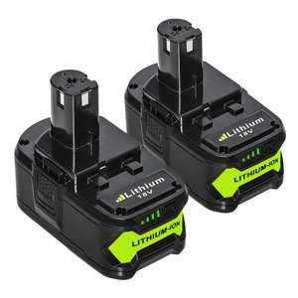Lot de 2 Batteries 18V 5.0Ah pour outils  Ryobi One + (vendeur tiers)