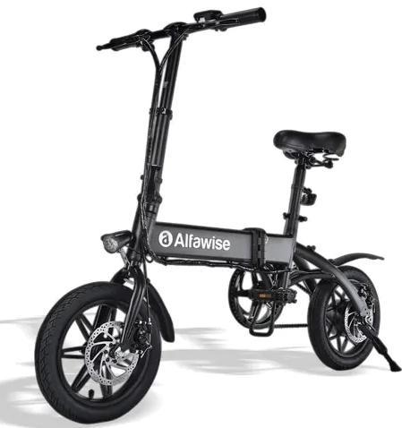 Vélo Électrique Pliant Alfawise X1 - Batterie 10,4 Ah