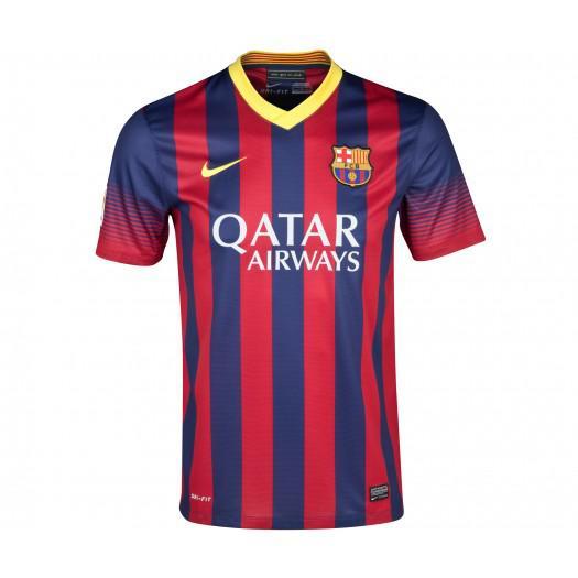 Maillot de Football Officiel FC Barcelone Domicile 2013-2014 - Taille XXL