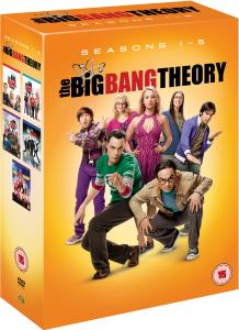 Coffret 16 DVD The Big Bang Theory - Saison 1 à 5 (Saisons 1 et 3 seulement en anglais)