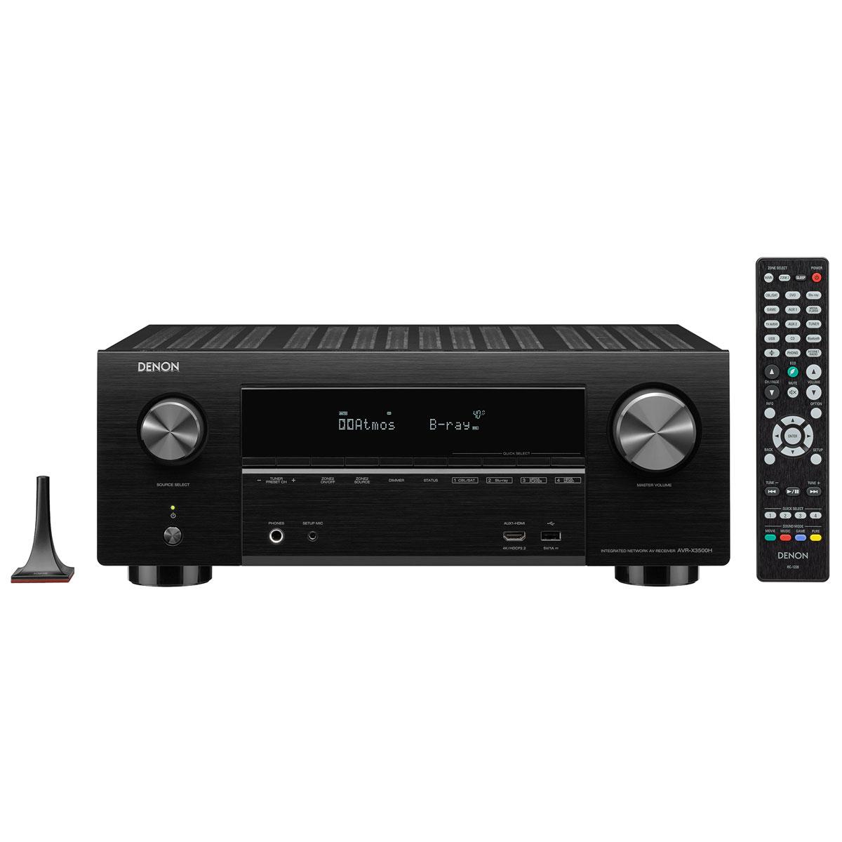 Ampli HC Denon AVR-X3500H Noir