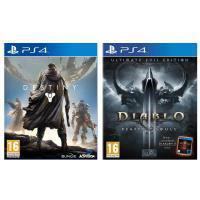 Pack Destiny + Diablo 3 Ultimate Evil Edition Jeux PS4