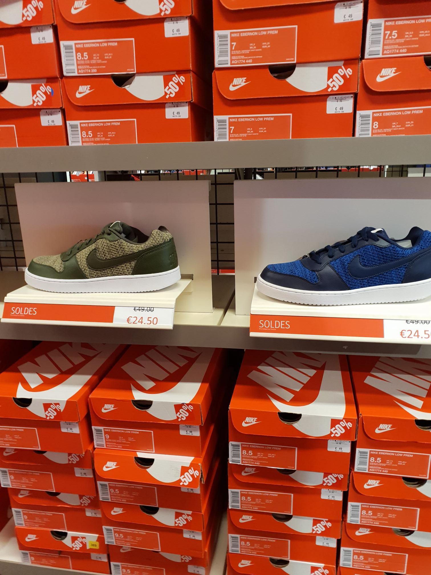 Sélection de Sneakers Nike en promotion (EX  Nike Ebernon Low) - Nike  Factory a2d9293a70b1