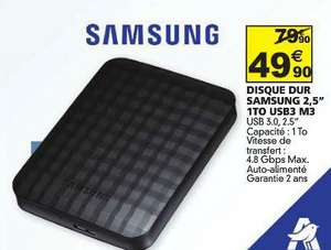 "Disque dur externe 2,5"" Samsung M3 1To"