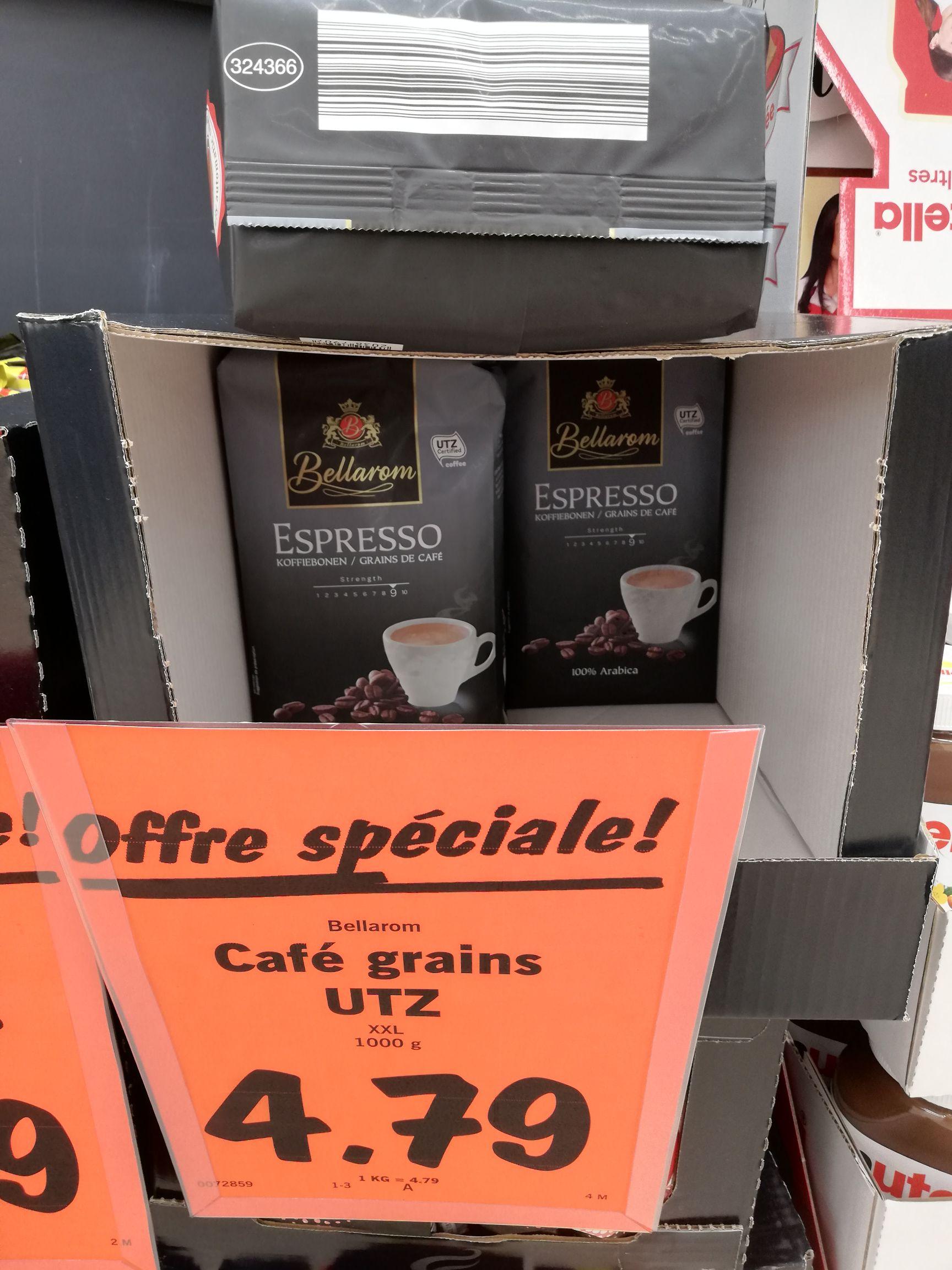 Sachet de café en grains Bellarom Expresso 100% arabica (1 kg) - Châtenay-Malabry (92)