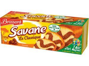 4 paquets de Savane Brossard (via 1+1 gratuit au choix et BDR de 1€)