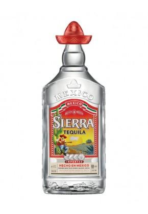 Bouteille de tequila Sierra Silver - 70 cl