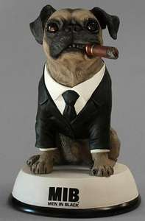 Coffret Blu-Ray collector Men in Black - Trilogie - avec la figurine Franck le chien