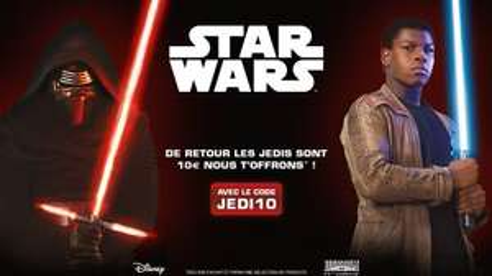 10€ de réduction sur tous les Lego Star Wars
