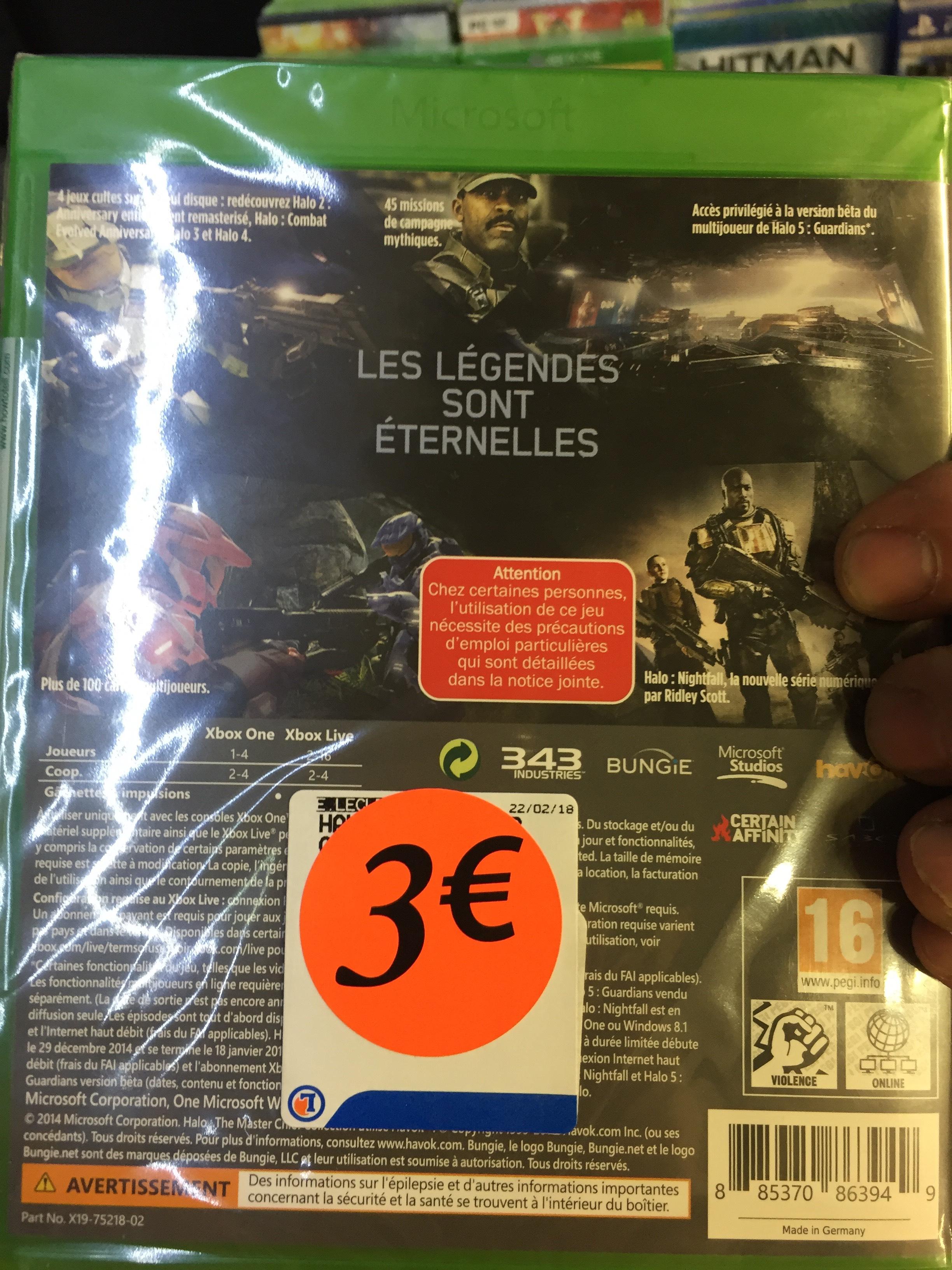 Halo master Chief Collection sur Xbox One - St. Lubin des Joncherets (28)