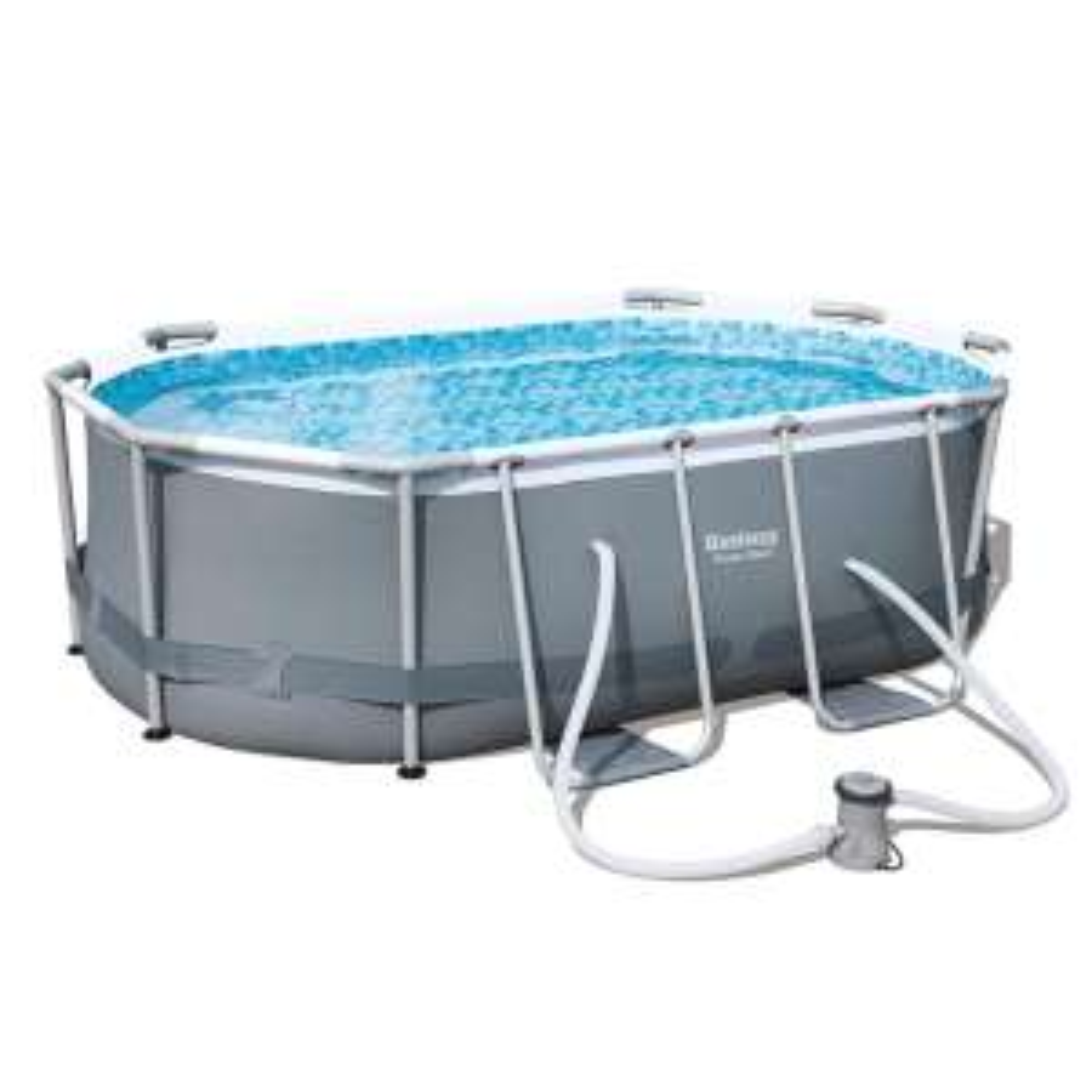 Sélection d'articles en promotion - Ex : Kit piscine ovale Steel Frame 300 x 200 x 84 cm  Bestway