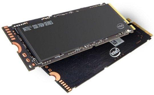 SSD M.2 NVMe Intel 760p Series - 512 Go, Jusqu'à 3230-1625 Mo/s en Lecture-Écriture (bpm-power.com)
