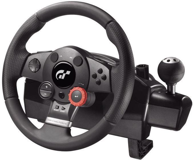 Volant PC/PS3 Logitech Driving Force GT