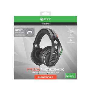 Casque Plantronics RIG 400HX Compatible Xbox One, PC/MAC, PS4 (Prise Jack)
