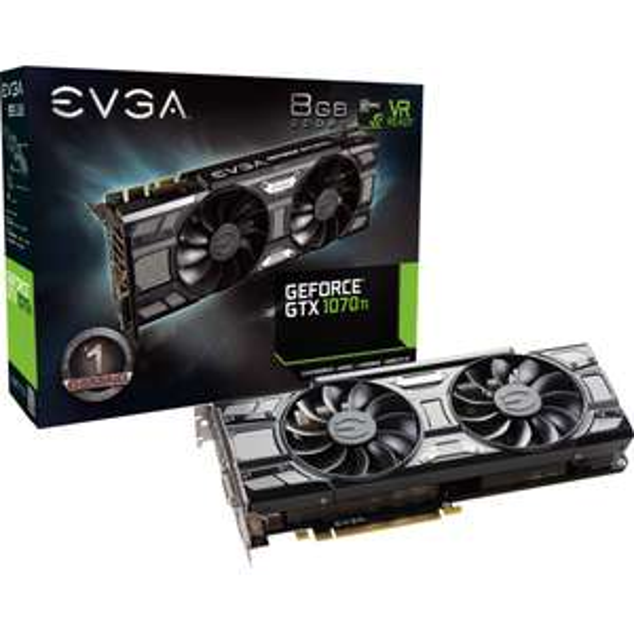 Carte Graphique EVGA GeForce GTX 1070 Ti SC ACX3 - 8 Go