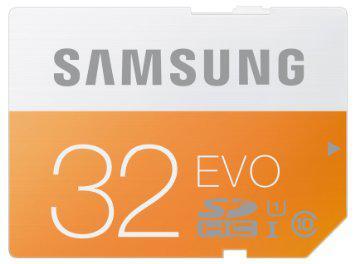 Carte Mémoire SDHC Samsung Evo 32 Go Classe 10