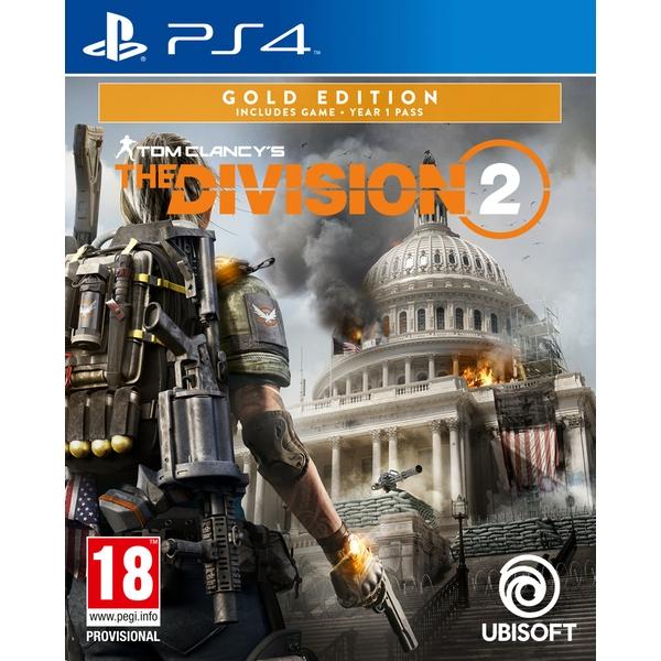 [Précommande] The Division 2 Gold Edition sur PS4 (avec Beta privée + Capitol Defender Pack DLC)