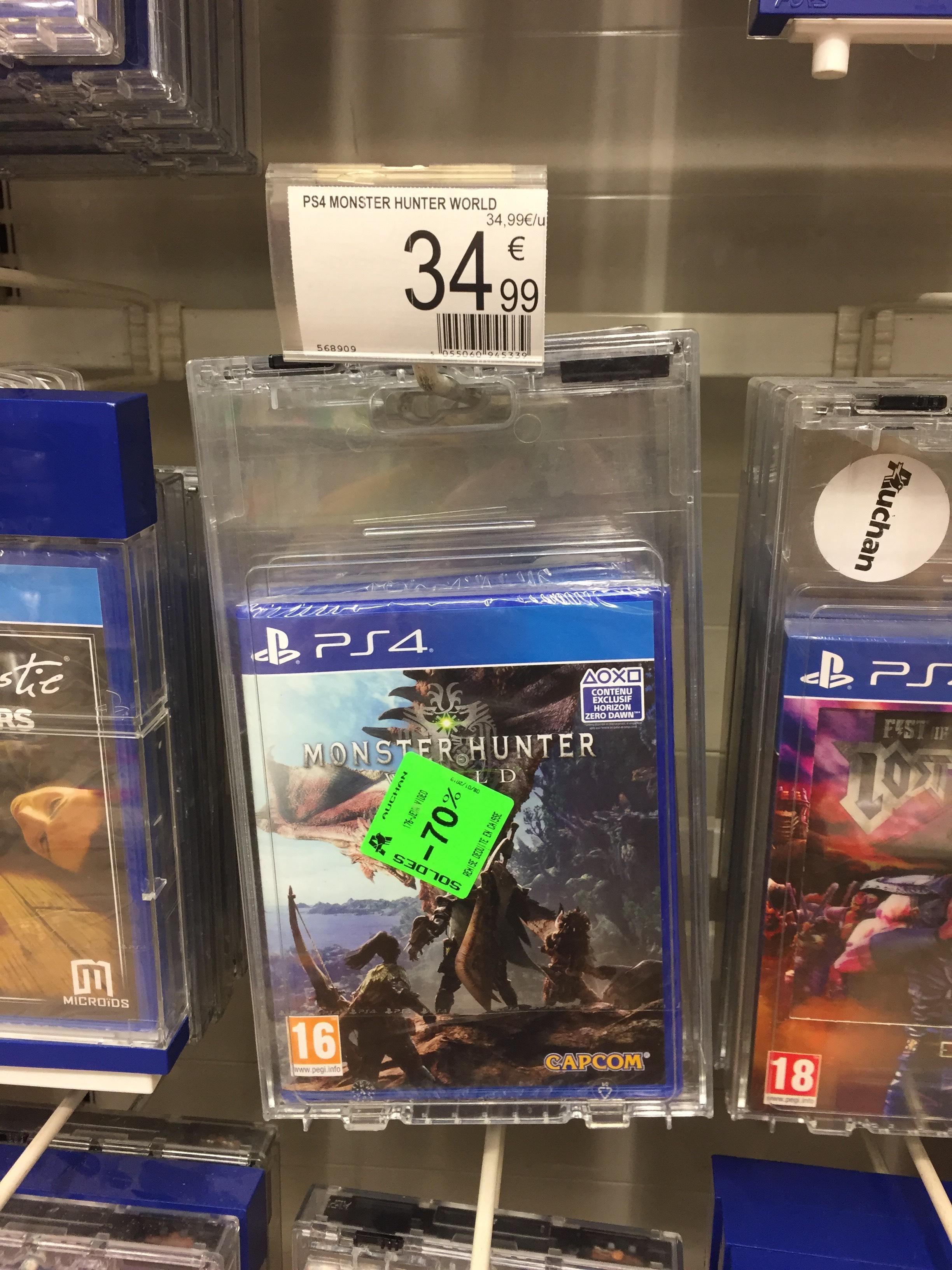 Monster Hunter World sur PS4 - Cergy (95)