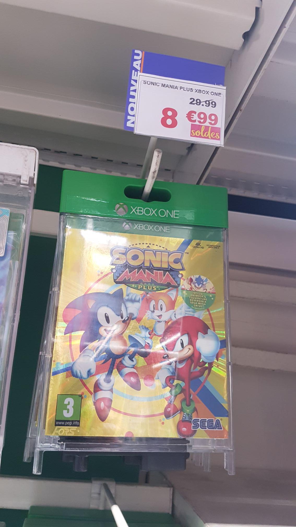 Sélection de jeux en promotion - Ex: Sonic Mania sur Xbox One - Bethune (62)