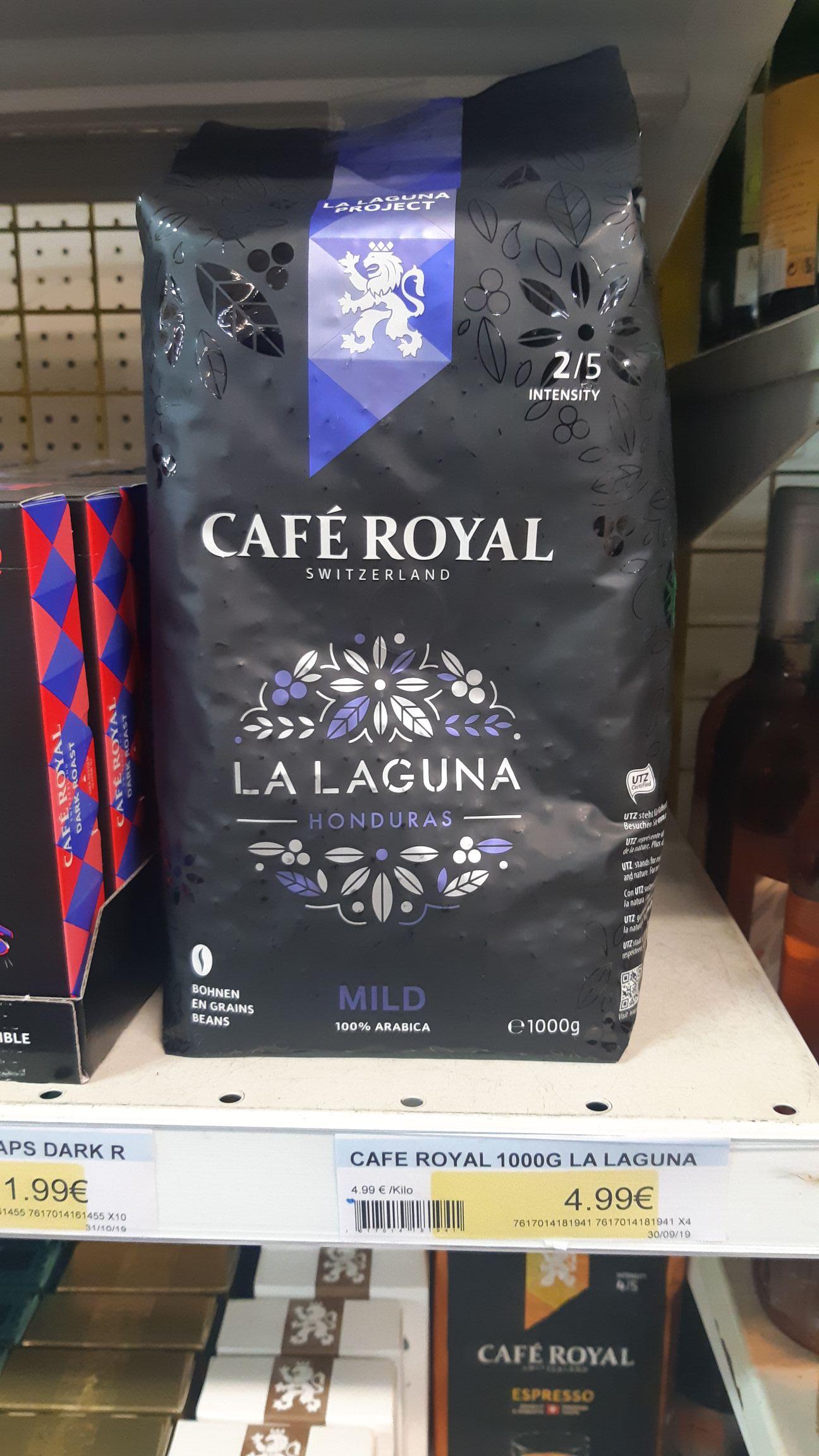 Paquet de Café en grain Café Royal La Laguna 1kg - IDstock à Lillers (62)