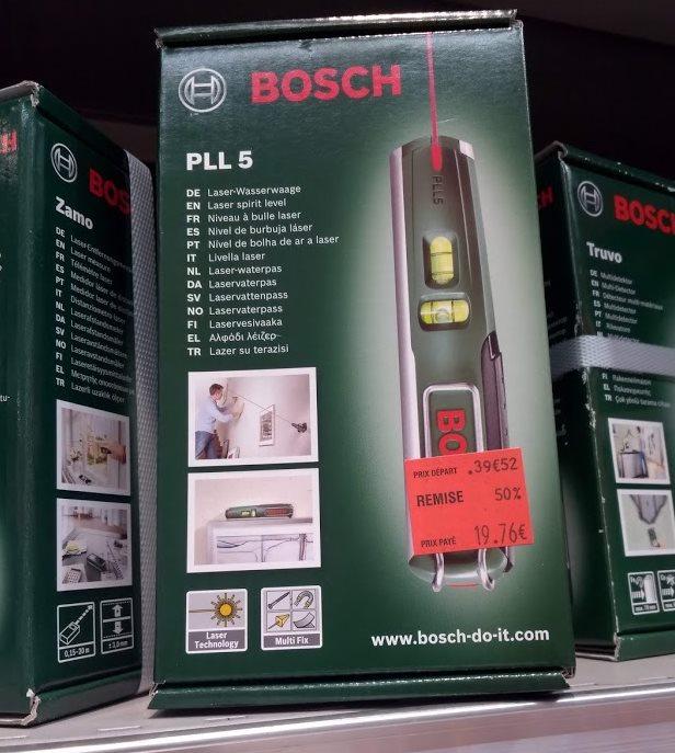 Niveau laser Bosh PLL 5 - Barentin (76)