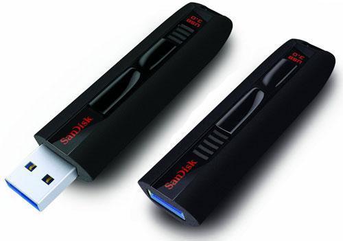 Clé USB 3.0 Sandisk Extreme 64 Go - Reconditionné (Grade A)