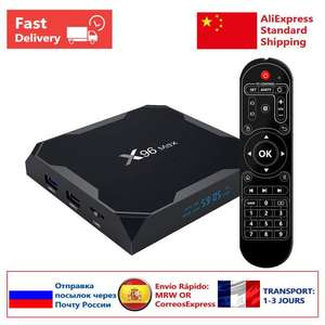 Box Android X96 Max S905XII - 64Go, 4Go de Ram,  LAN 1000M