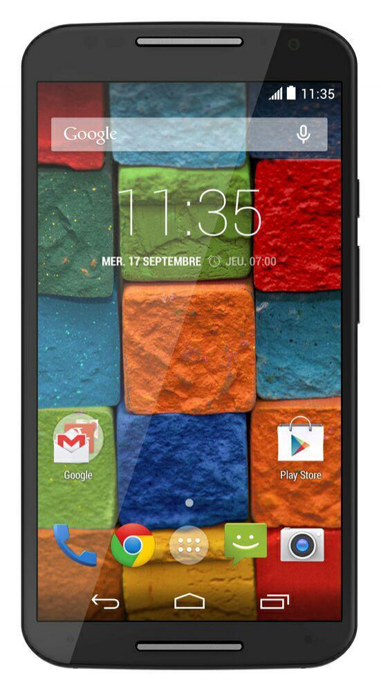 """Smartphone 5.2"""" Motorola X (2ème Génération Noir) - 4G - 32 Go"""