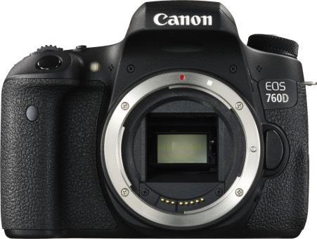 Reflex Canon EOS 760D 24,3MP - (boîtier nu)