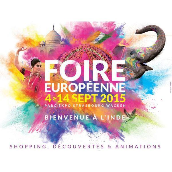 Entrée pour la Foire Européenne de Strasbourg