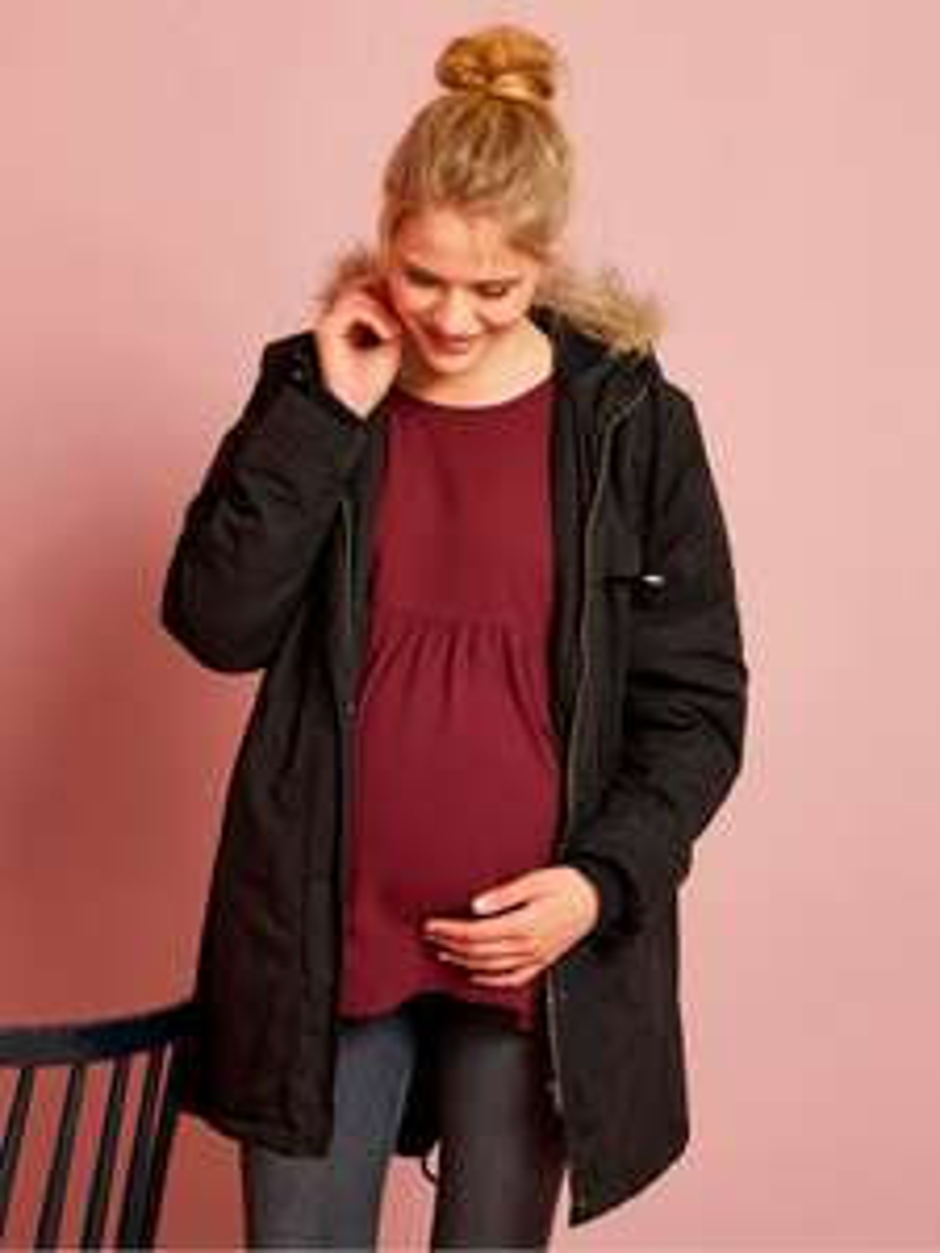 ... marque Zalando,moins cher. Parka évolutive grossesse et post-grossesse  3 en 1 - noir d2d9ea8c5f0