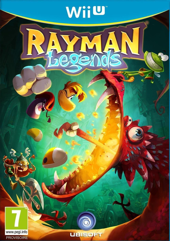 Jeu Rayman Legends sur Wii U (Dématérialisé)