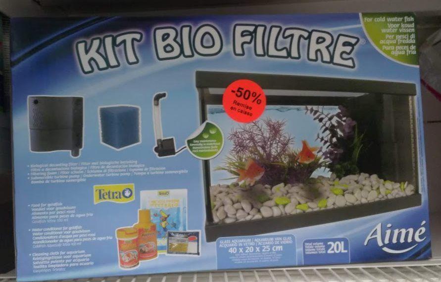 Aquarium Kit Bio Filtre 20L - Barentin (76)