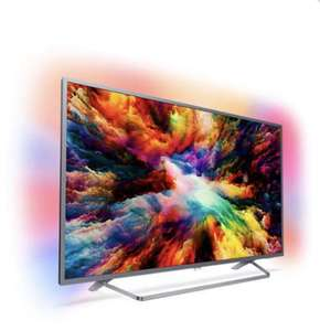 "TV 65"" Philips 65PUS7303 - LED, 4K UHD, HDR Plus, Smart TV, Ambilight 3 côtés"