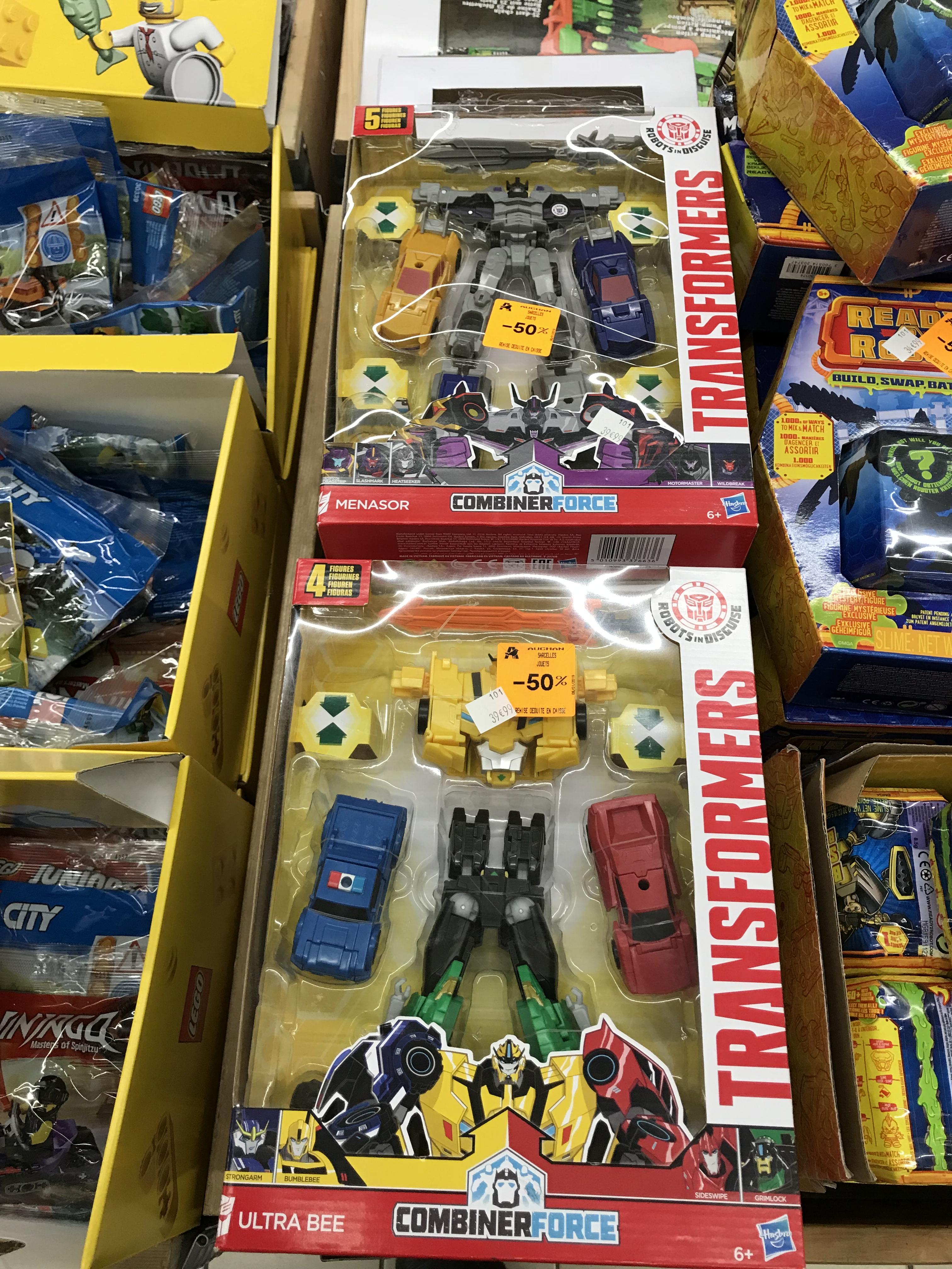 Jouet Transformers Combiner Force - Modèles au choix - Sarcelles (95)