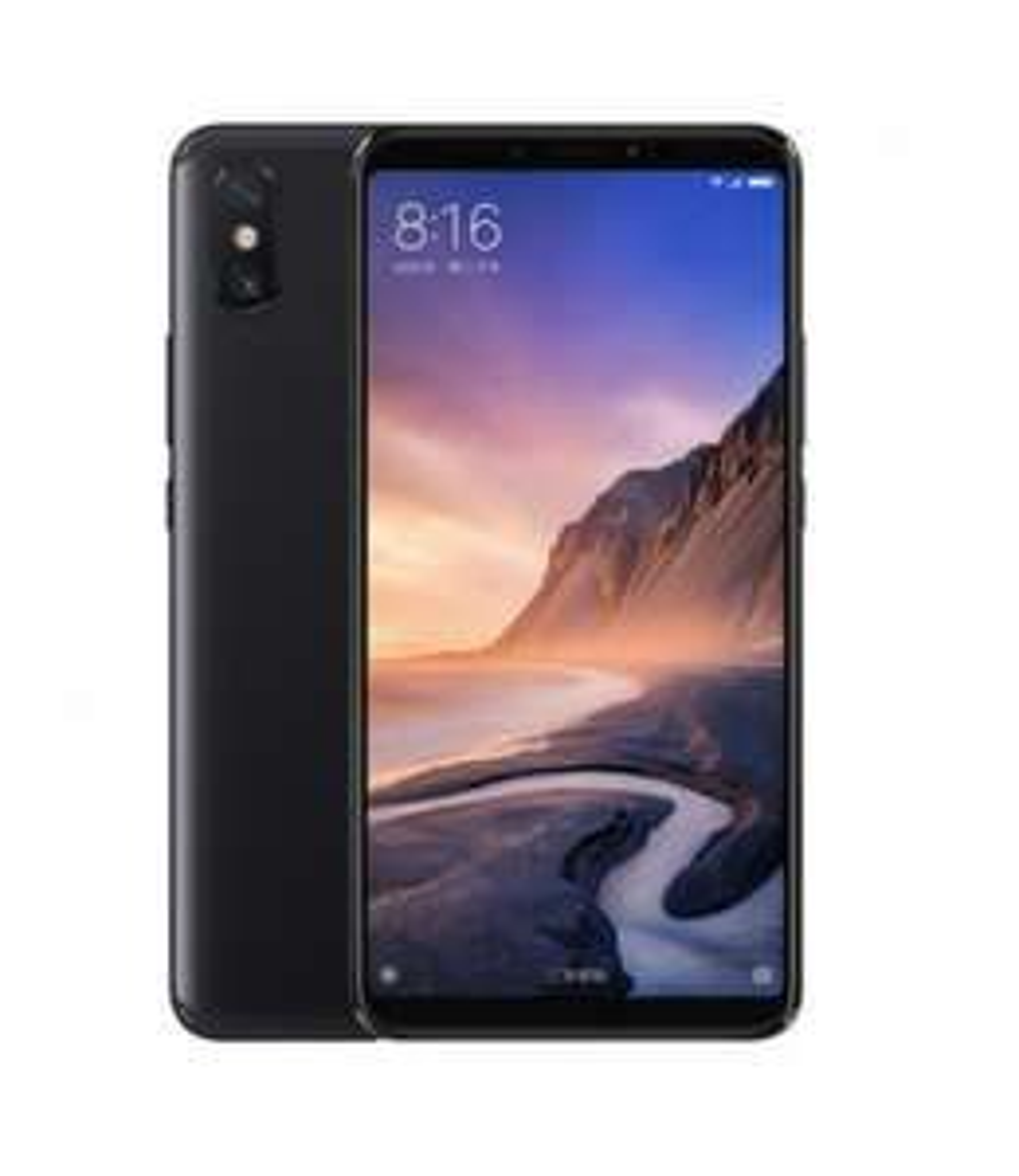 "Smartphone 6.9"" Xiaomi Mi Max 3 - 4 Go de RAM, 64 Go de ROM, Noir"