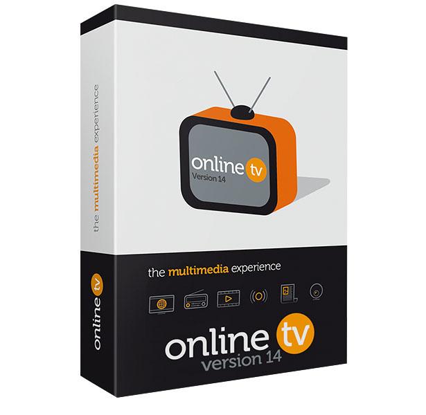 Logiciel Online TV 14  sur PC (Dématérialisé)