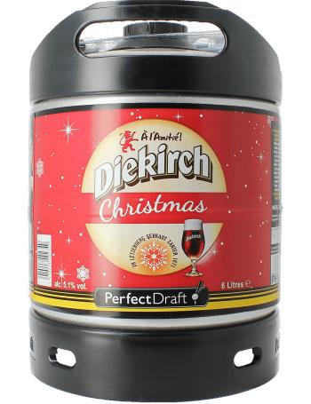 Sélection de Fûts de bière en promotion - Ex : Diekirch de Noël 6L (Consigne 5€)