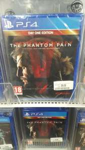 Metal Gear Solid 5 Day One Edition sur PS4