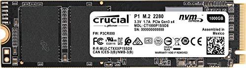 SSD NVMe M.2 Crucial P1 3D - 1To (Frais de port et douane inclus)