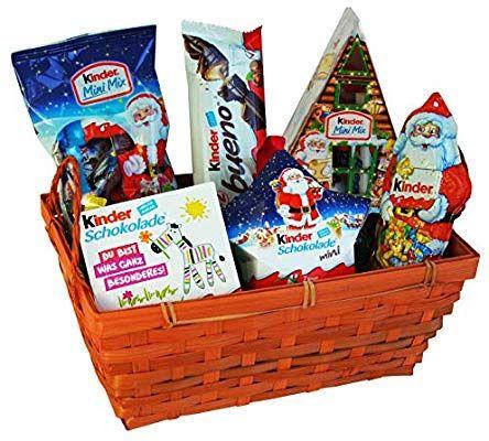 Coffret Cadeau de Noël avec Ferrero Kinder Chocolat - 6 pièces (Vendeur tiers)